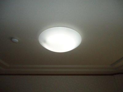 全部屋にLED照明付き