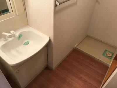 広々とした洗面所