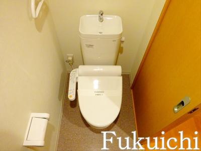 【トイレ】ヴェルデ柿の木坂