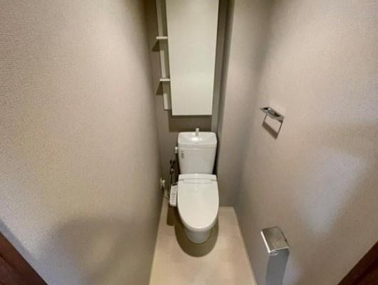 新小岩パークフロントパークテラスのトイレです。