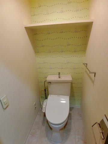 【トイレ】ガーデンハウス上水