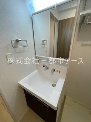 【洗面所】フラットT&T 西中延