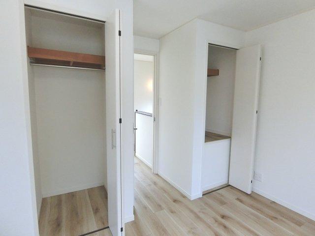 3階洋室2の収納