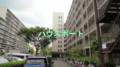 【外観】山科南団地E棟