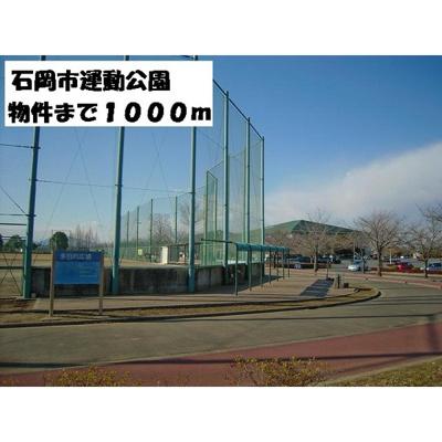 その他周辺「石岡市運動公園まで1000m」石岡市運動公園まで1000m