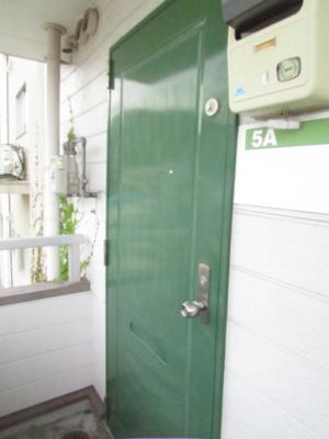 【玄関】マツバハイツ5