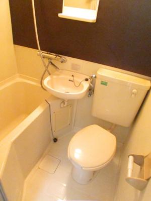 【浴室】マツバハイツ5
