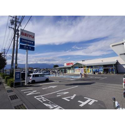 スーパー「西友笹部店まで805m」