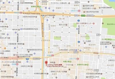 【地図】エステムプラザ心斎橋EASTⅣブランディア