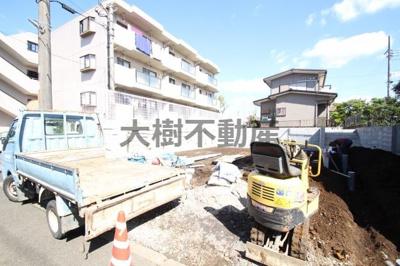 【外観】綾瀬市大上3丁目 新築戸建て 全2棟 【仲介手数料無料】