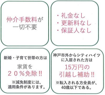 ☆神戸市西区 シティハイツ竜が岡☆