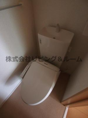 【トイレ】レジデンス オオギⅡ