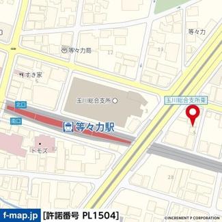 【地図】ラ・パルフェ・ド・シャリテ