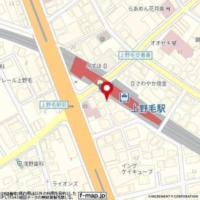 【地図】LA PREMIERE 上野毛