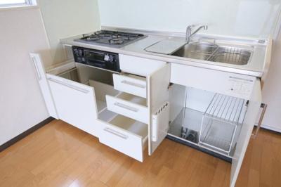 キッチン収納(下部)