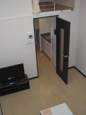 ロフト付き居室 (床材の仕様は部屋により多少異なります)