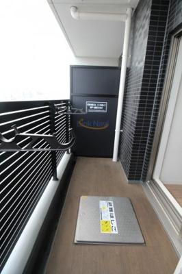 【バルコニー】プレサンス大阪ゲートシティ