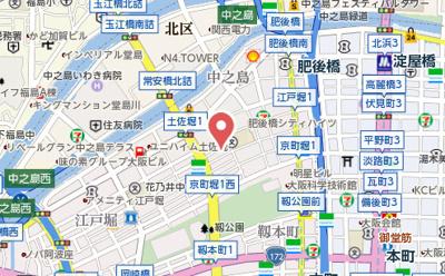 【地図】VERDE EBISU