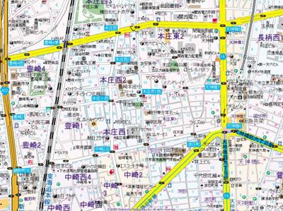 【地図】エスリード北梅田