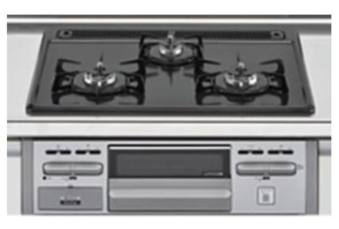 キッチンに床下収納があります。普段使わない鍋などの収納に最適です♪