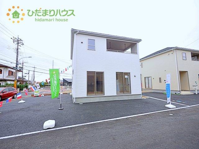 【外観】つくば市高見原第14 新築戸建 1号棟