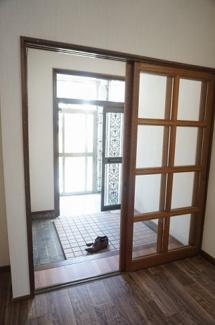 【玄関】神居8-7戸建