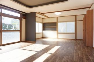 【居間・リビング】神居8-7戸建