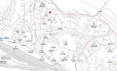 【地図】糸崎5丁目 売地