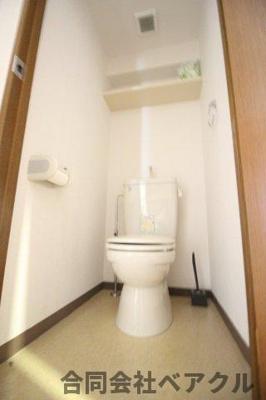 【トイレ】ベラジオ二条城前