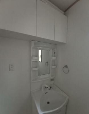 洗面化粧室は独立しています。