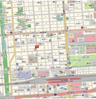 【地図】プレステージ錦糸町