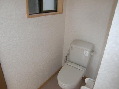 【トイレ】岡谷市川岸上2丁目 中古住宅⑭