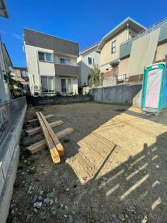 【外観】横浜市保土ヶ谷区法泉2丁目 新築戸建て 3LDK 駐車場1台