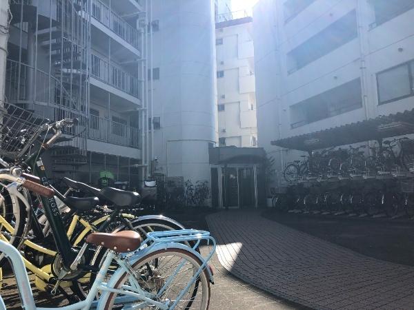 【駐輪場】井草サマリヤマンション