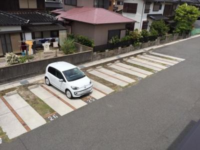 【駐車場】ラフィネはまゆう B棟