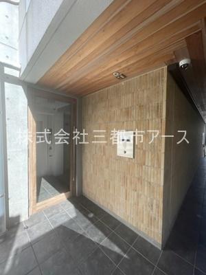 【エントランス】コスモリード目黒花房山