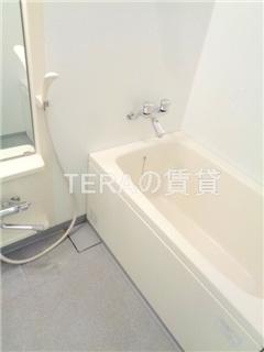 【浴室】ホワイトキューブ南長崎