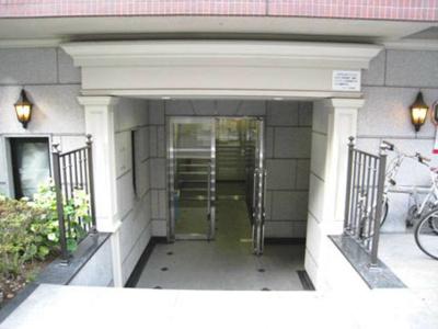 【エントランス】スカイコート日本橋人形町第2