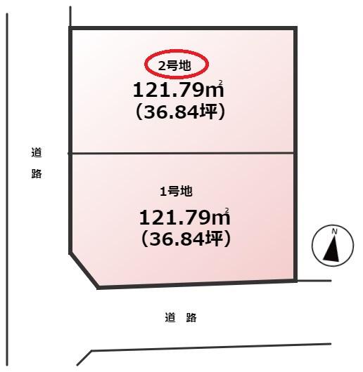 【土地図】南区大池1丁目土地2号地