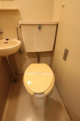 【トイレ】シティコーポ比治山