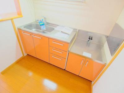 【キッチン】クロ-バ-ハウス