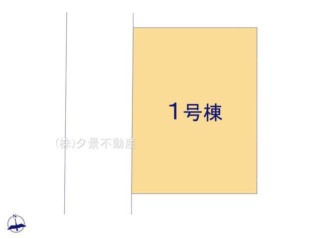 【区画図】川口市朝日4丁目4-12(全1戸)新築一戸建てケイアイスタイル