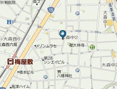 【地図】Rachel(レイチェル)