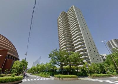 【外観】ポートピアプラザA棟~D棟