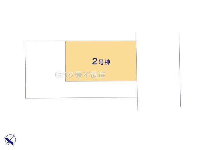 【区画図】川口市末広2丁目187-2(2号棟)新築一戸建てハートフルタウン