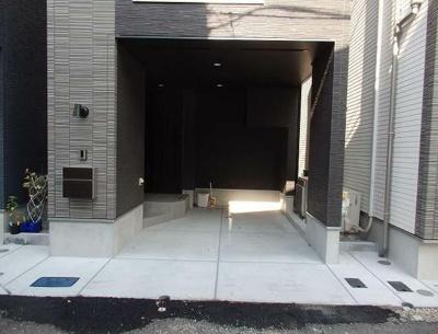【駐車場】茨田貸家