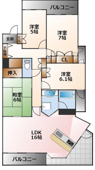 (分譲)ライオンズマンション甲子園口ラルジュ壱番館