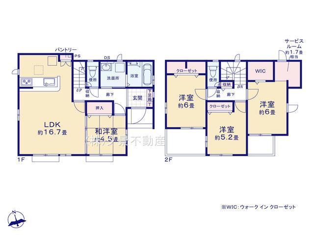 川口市大字峯1559-7(全1戸)新築一戸建てグラファーレ