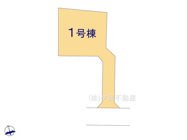 【区画図】川口市大字峯1559-7(全1戸)新築一戸建てグラファーレ
