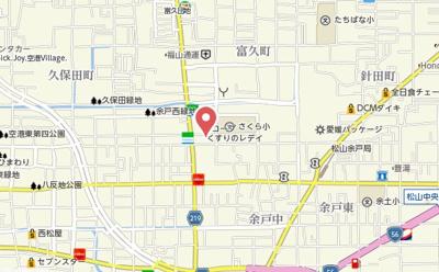 【地図】Casa Pacifica Yogo